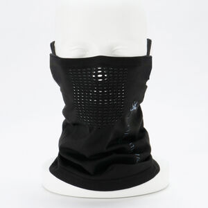 シームレスマスク コンフォート ブラック(ネックウォーマー) kpnw031