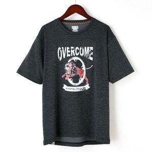 半袖ドライTシャツ OVERCOME kphs1000-WL チャコール