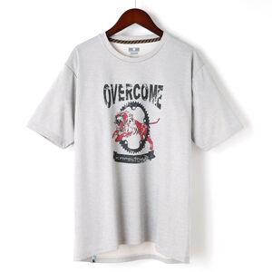 半袖ドライTシャツ OVERCOME kphs1001-L オートミール