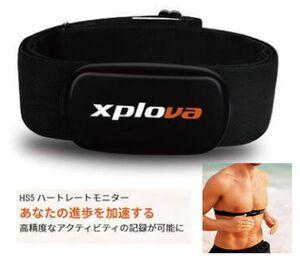 Xplova HS5(ハートレート)